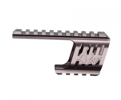 ASG Custom CNC Dan Wesson 715 Rail Mount (Steel Grey)