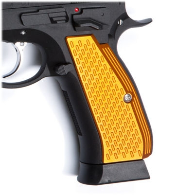 ASG Aluminium Grip Shells for CZ SP-01 Shadow (Orange)
