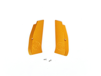 ASG Metal Grip Shells with CZ logo for CZ SP-01 Shadow (Orange)