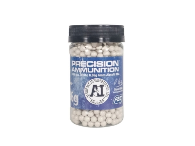 ASG .36g BB 1000 Round Bottle (White)