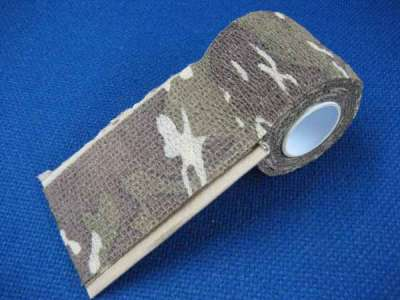 ASG Desert Camouflage Fabric Tape (4.5m x 5cm)
