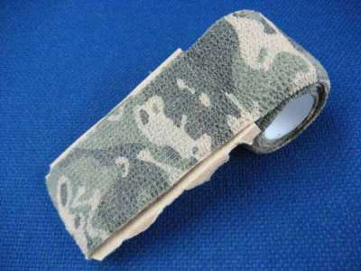 ASG Camouflage Fabric Tape (Woodland)(4.5m x 5cm)
