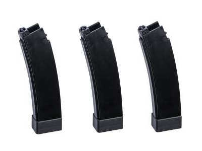ASG magazine scorpion EVO 3 A1 3 pcs 75 rnd black