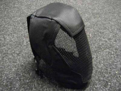 Black Bear Rampage (Black) Full Mesh Mask