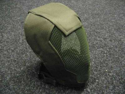 Black Bear Rampage OD Green mesh mask