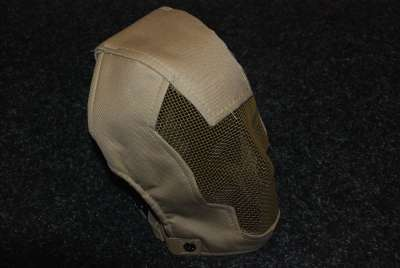 Black Bear Razor Tan Full Mesh Mask - Save &pound9