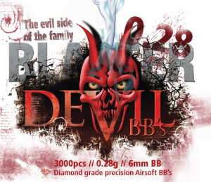 ASG Blaster Devil .28g BB's 3000 rnd Bottle (White)