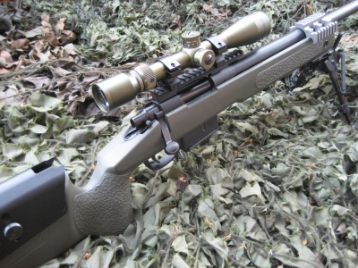 FireSupport Custom Marui M40A5 Spring 500fps Sniper Rifle  (OD)