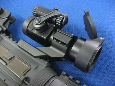 Gbase Unmarked Red Dot Sight with Cantilever Mount and Kill Flash