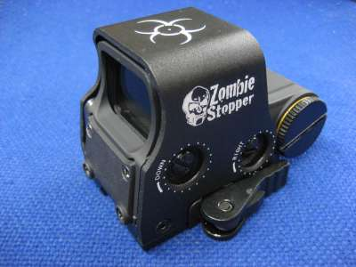 Gbase EXPS2 EOT Style Zombie Stopper Biohazard Red and Green Dot Sight