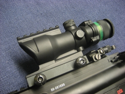 Gbase 4x32 Tactical ACOG with Green Fiber Optic Illumination SALE