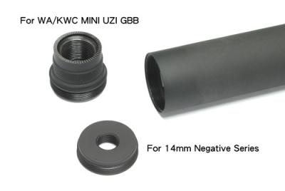Guarder AEG/WA/KWC MINI UZI Silencer - Airsoft Shop ...