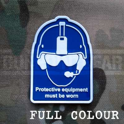 Gun Point Gear Health And Safety - Colour Velcro Patch