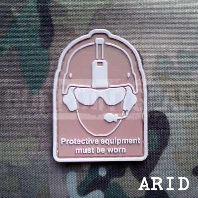 Gun Point Gear Health And Safety - Arid Velcro Patch