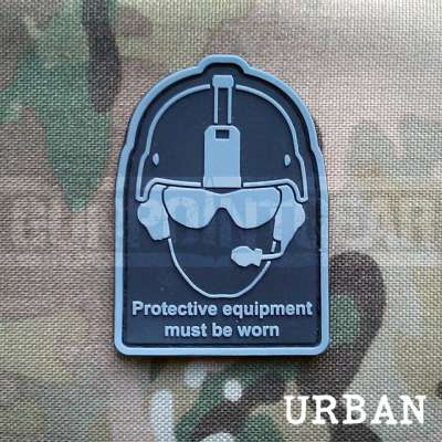 Gun Point Gear Health And Safety - Urban Velcro Patch