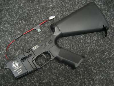 ICS M4/M16 Fixed Stock Lower Receiver Set (Short)