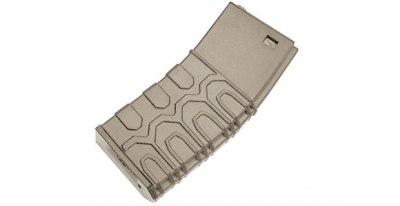 ICS T4 M4/M16 Tactical Hi-Cap Magazine (Tan)(300 rnd)