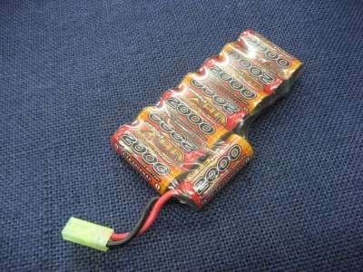 ICS 9.6V-2000mAh NI-MH battery