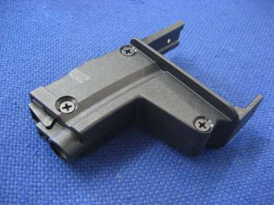 ICS Drum Mag Connector for BT5/MP5 (Black)