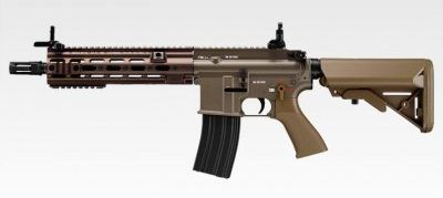 Marui 416 DELTA CUSTOM Airsoft Rifle AEG. (Dark Earth)