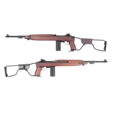 King Arms M1A1 Paratrooper CO2 Airsoft Rifle.