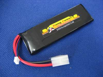 Kong Power 7.4v 3300mAh 15c LiPo Rechargeable Battery (Single Pack)(Large Tamiya)
