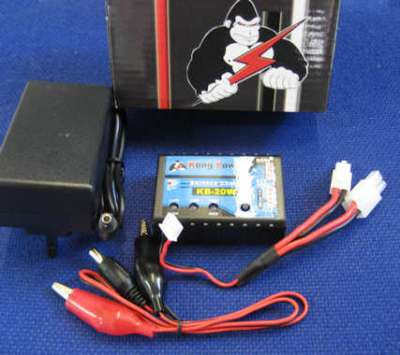 Kong Power battery charger Support for LIPO, LiFe, Li-ion, NiCd, NIMH