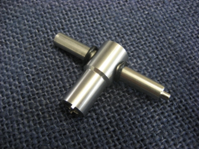 LPE CNC Machined Stainless Steel Valve Key For Pistol Magazines