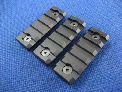 ICS Keymod Rail Piece (Short) (Set of 3)(Metal)