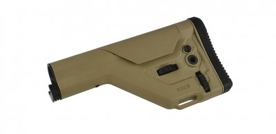 ICS UKSR Sniper Precision Adjustable Stock (W/O Stock Tube)(Tan)