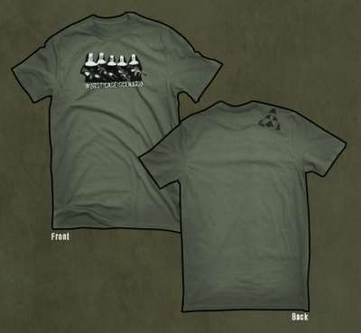 Magpul Worst Case Scenario T-Shirt-OD GREEN-MED - Airsoft Shop