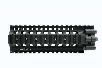 Madbull 7 inch Daniel Defense Lite Rail Picatinny Handguard (Black)