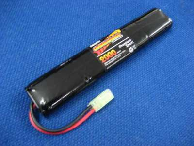 Overlander 9.6v 2000mah Rechargeable NiMH Battery for Ares L1A1 SLR/Masada (Type 14)(Mini Tamiya)