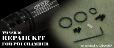 PDI Hop-Up Chamber Unit Repair Kit for Marui VSR-10