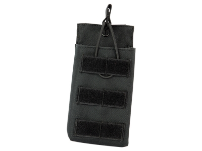 LayLax (Rairakusu) Big Size Single Magazine Pouch (Black) AA12 M4 AK