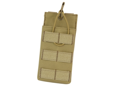 LayLax (Rairakusu) Big Size Single Magazine Pouch (TAN) AA12 M4 AK