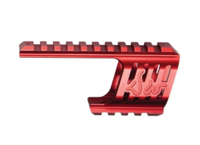 ASG Custom CNC Dan Wesson 715 Rail Mount (Red)