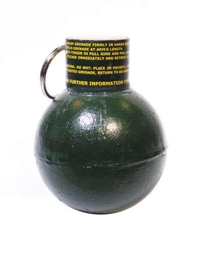 TLSFx Pull Fuse Ball Grenade - Pea Fill (box of 10)
