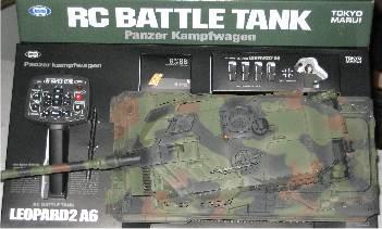 Marui (RC Tank) Leopard 2 A6