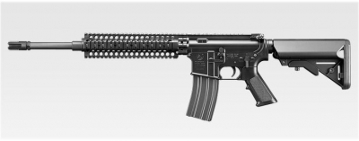 Marui (Recoil) RECCE Rifle Black Airsoft Gun EBB AEG SHOP SOILED