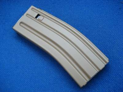 Marui Recoil M4 Hi-Cap Magazine for Sopmod/SCAR-L/CQC (Dark Earth)(430 rnd)