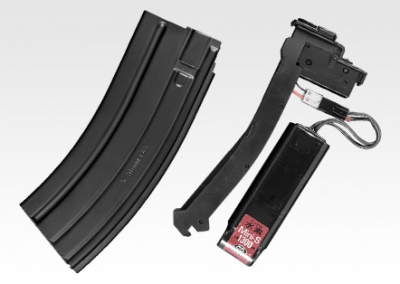 Marui TM416C Recoil Low-Cap Magazine (30 rnd)(Battery Holder)