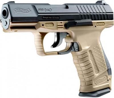 WALTHER P99 DAO RAL 8000 CO2 pistol 6mm