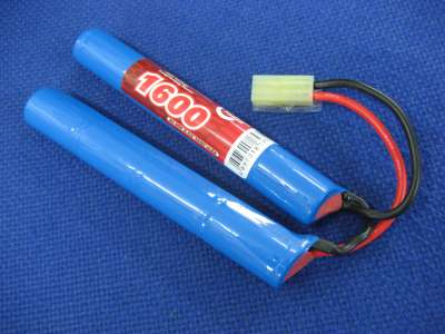 Vapex 9.6v 1600mAh NiMH 2/3A L4L4 Mini type crane stock rechargeable battery