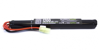 Nuprol Power 7.4v 1200mAh 20c LiPo Battery (Stick Pack)(Mini Tamiya)