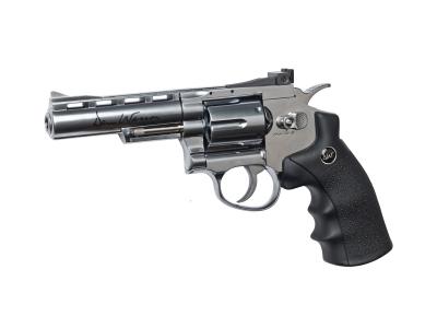 ASG 4 Inch CO2 Dan Wesson Revolver Pistol (Silver)