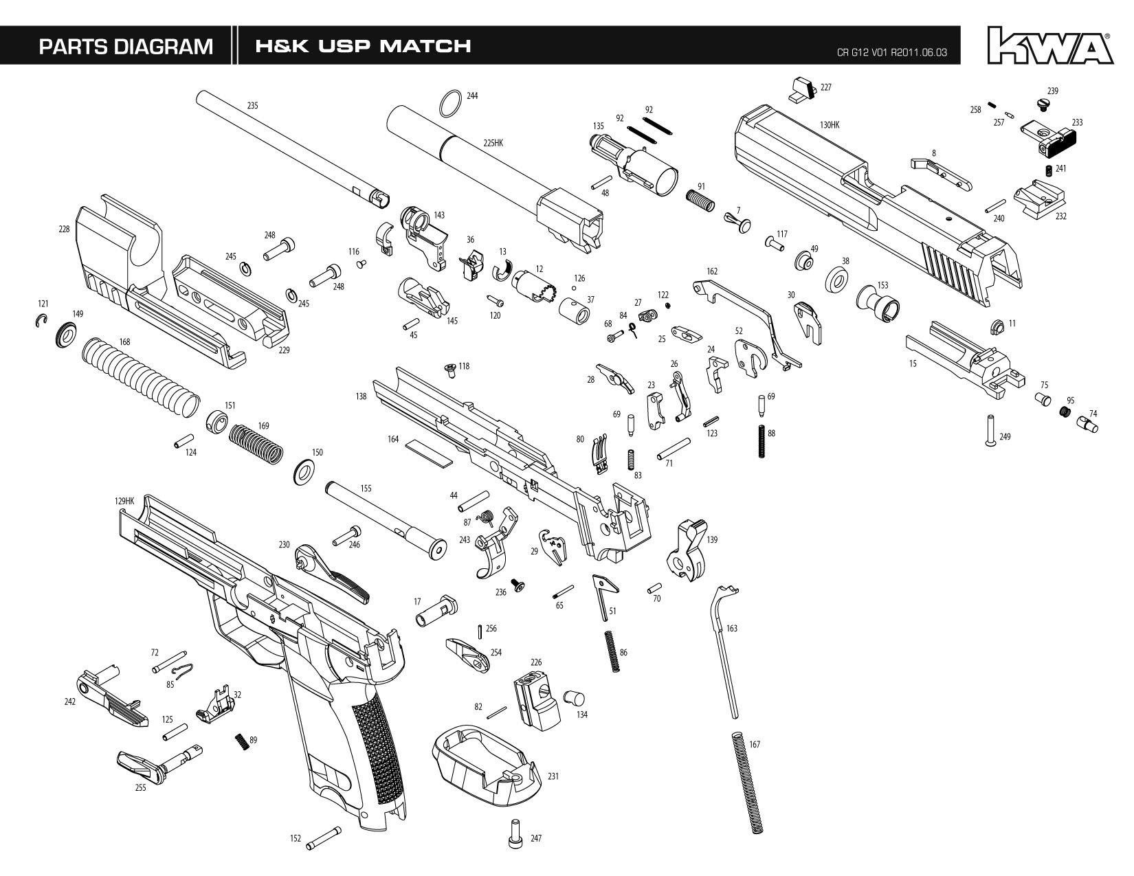 kwa gun manual h u0026k usp match