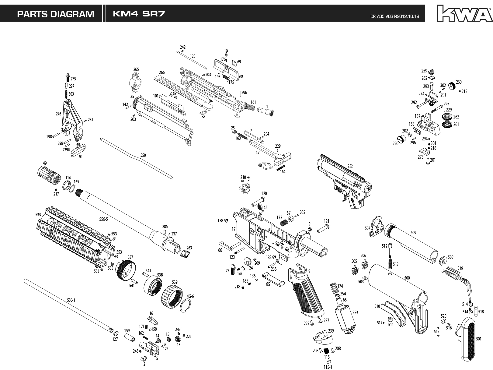 M4 Carbine Parts Diagram Wiring
