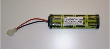 Sanyo 9.6v 600mah small battery