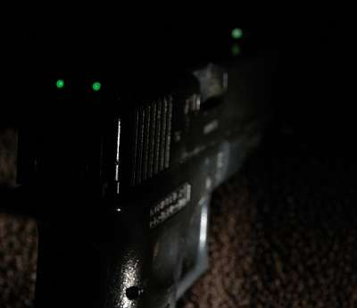 Fire-Support Tritium Sight Inserts Inc. Labour Charge for Pistols and AEGs